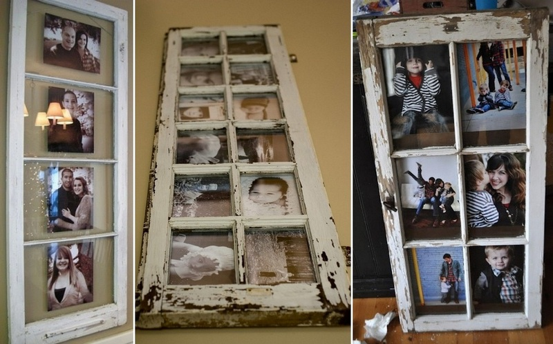 Here's a simple decorating idea using recycled window frames!  What do you think – win or fail?