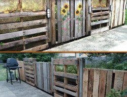 Just one more way to recycle pallets.