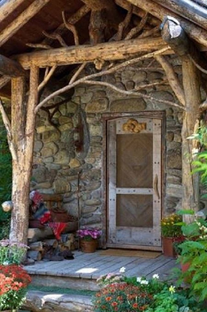 Nice and rustic or a bit too close to nature and more homely for the spiders?
