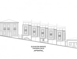Lofts Yungay II - East Elevation