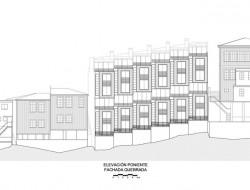 Lofts Yungay II - West Elevation