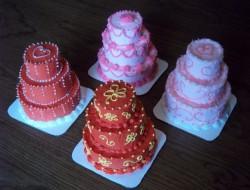 Yummy Multi-Tiered Mini Cake