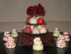 Christmas Multi-Tiered Mini Cake