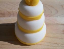 Multi-Tiered Mini White Cake