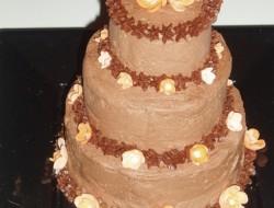 Multi-Tiered Mini Chocolate Cake