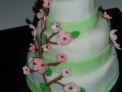 Decorated Multi-Tiered Mini Cakes