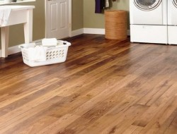 Sheet vinyl flooring is best laid by a professional