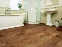 Sheet vinyl flooringin is suitable for all wet areas