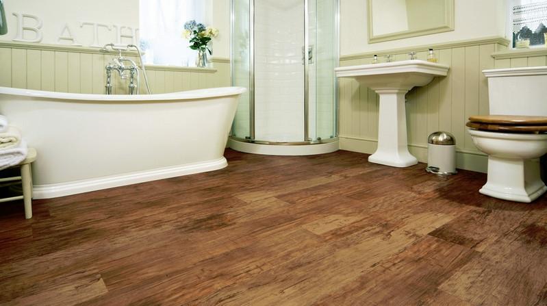 Sheet vinyl flooringin is suitable for all wet areas