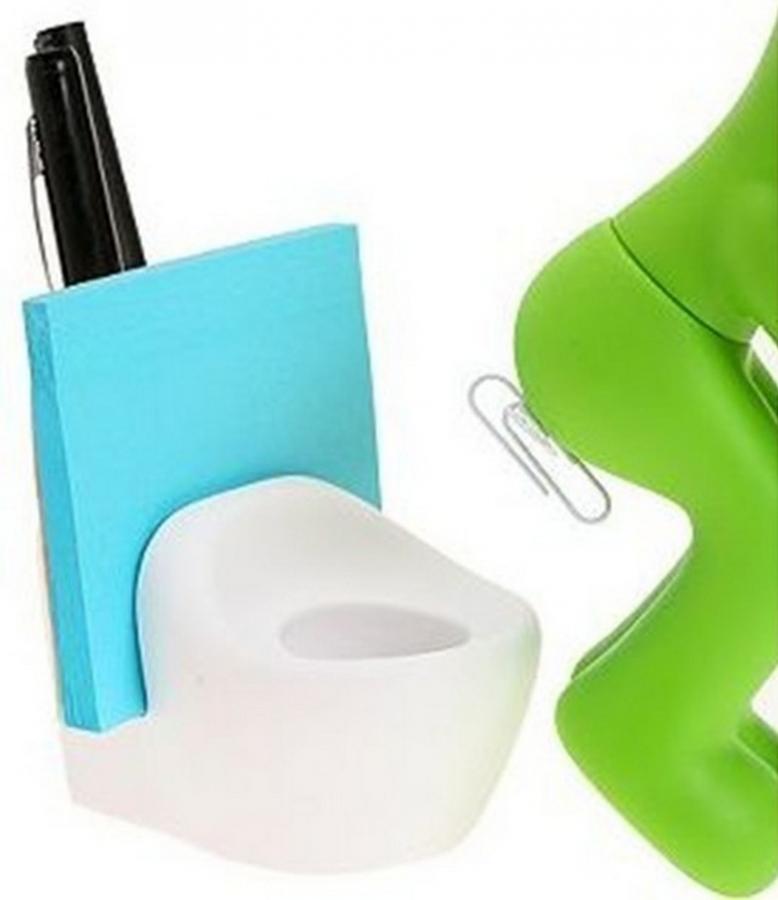The Butt Station Desk Accessory Holder - Clip Holder