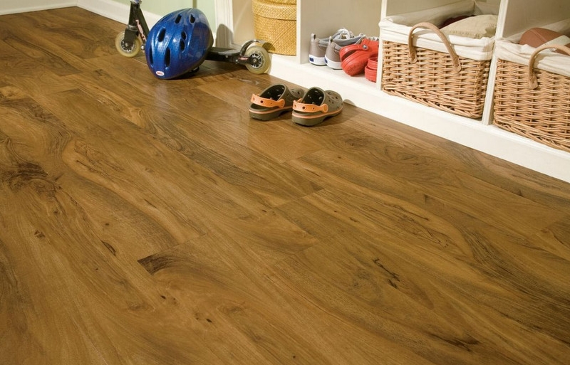Vinyl plank flooring is very easy to lay