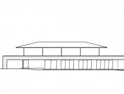 Water-Cooled House - Elevation