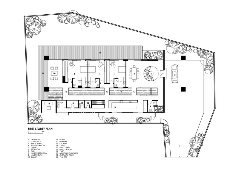 Water-Cooled House - Ground Floor Plan | The Owner-Builder Network