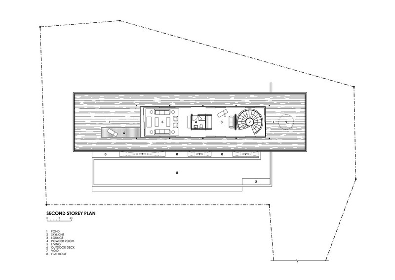 Water-Cooled House - Second Floor Plan