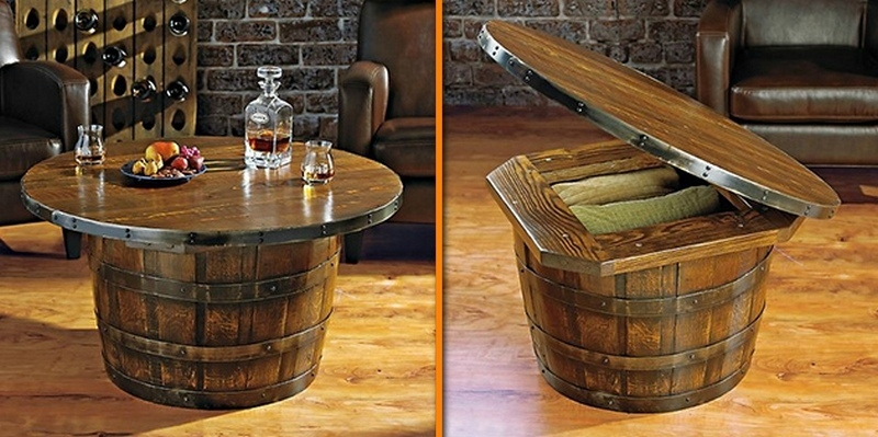 Recycled Wine Barrels The Owner Builder Network