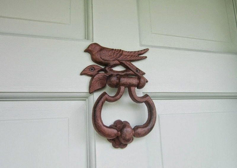 Metal Bird Door Knocker