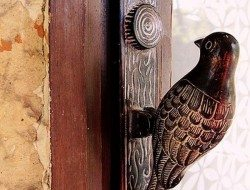 Metal Bird Door Knocker