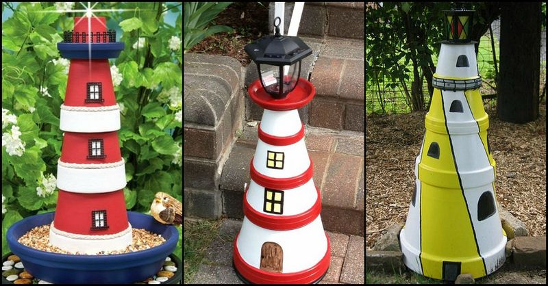 Diy clay pot lighthouse the owner builder network - Why you should cook clay pots ...