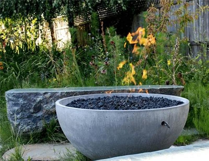Diy Concrete Fire Pit The Owner Builder Network