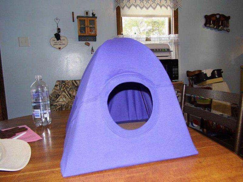 DIY Cat Tent & DIY Cat Tent   Cat House Hanger Pets