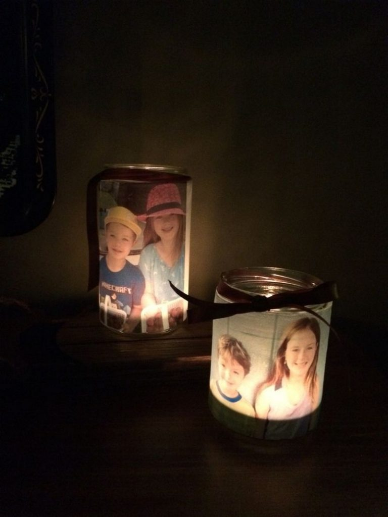 How To Make Glowing Photo Luminaries The Owner Builder