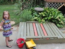 DIY Sandbox with Cover