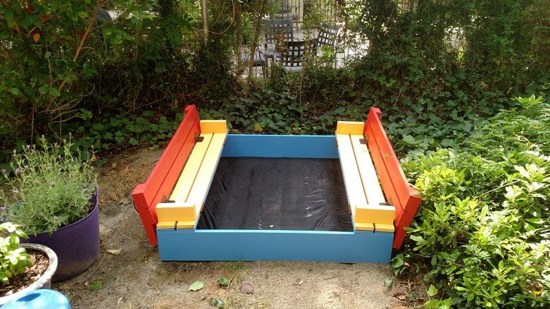 Thanks to The Perfect Sandbox for this great project. You can get step ...