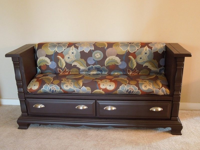 Groovy Dresser Upcycled Into A Bench The Owner Builder Network Uwap Interior Chair Design Uwaporg