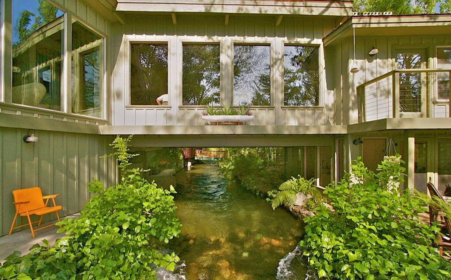 Flowing under the home - Kaweah Falls