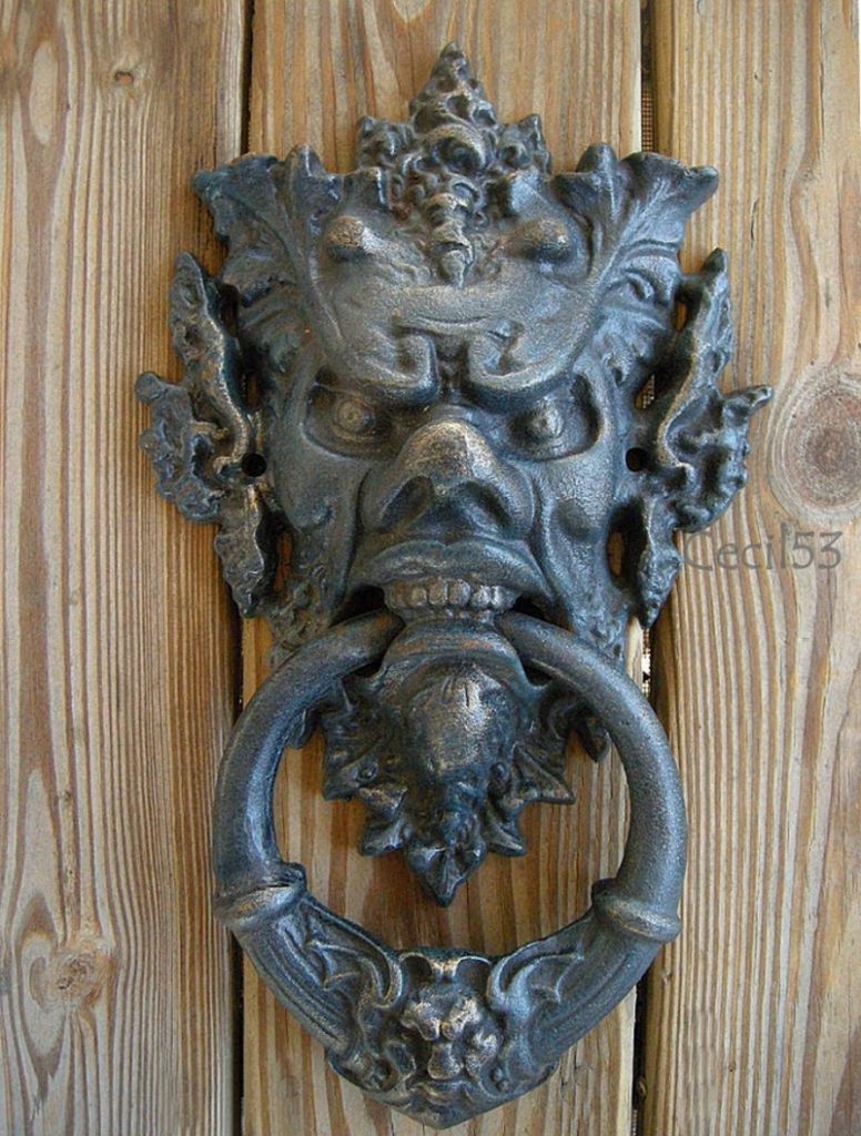 Unique door knockers unique door knockers door knockers - Greenman door knocker ...