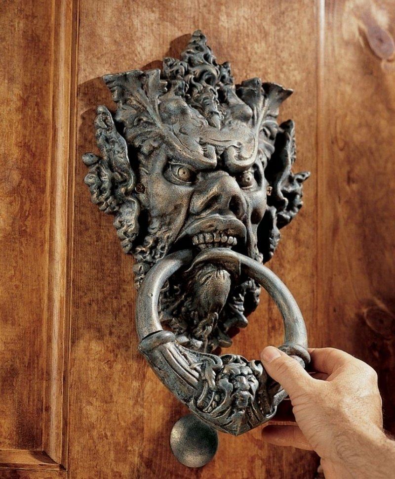 Greenman Door Knocker