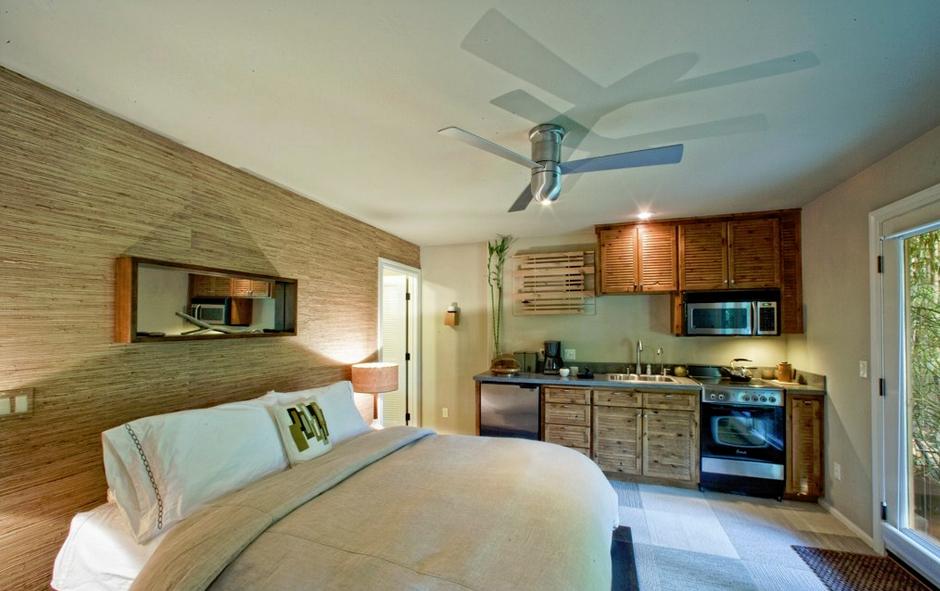 Guest suite at Kaweah Falls