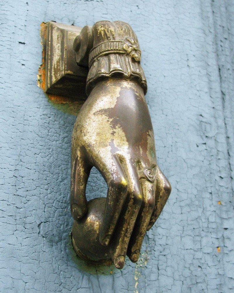 Victorian Hand Door Knocker