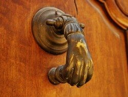 Victorian Hand Door Knocker