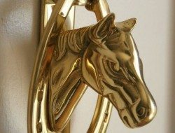 Horse Head Door Knocker
