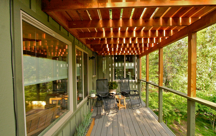 Master suite balcony - Kaweah Falls
