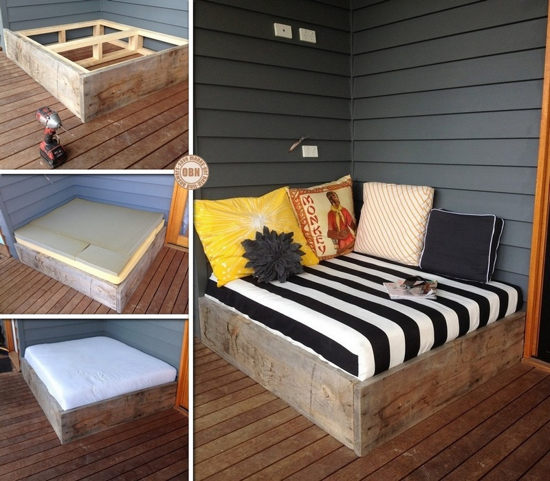 Make A Day Bed From Reclaimed Timber &8211; The Owner-Builder Network - Diy Projects