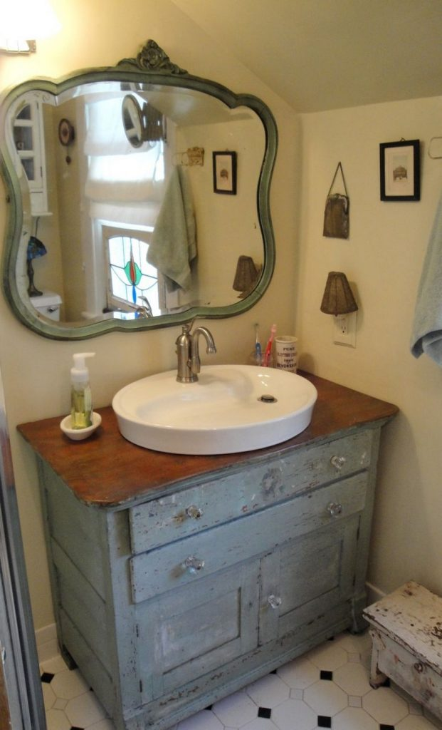 DIY Dresser to Vanity - The Owner-Builder Network