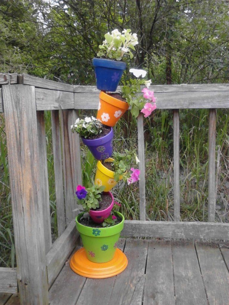 topsy turvy herb garden examples - Garden Examples Photos