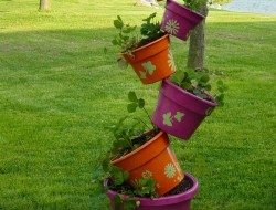 Topsy-Turvy Herb Garden Examples