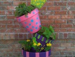 Topsy-Turvy Herb Garden ExamplesTopsy-Turvy Herb Garden Examples