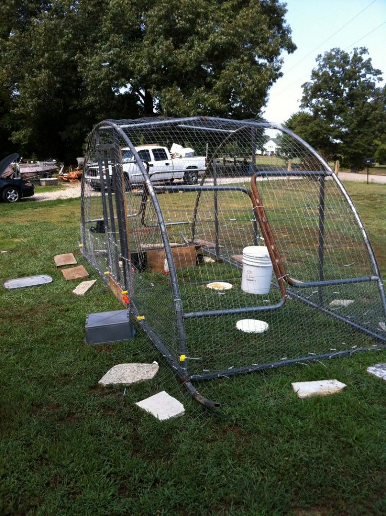 Diy Trampoline Chicken Coop The Owner Builder Network