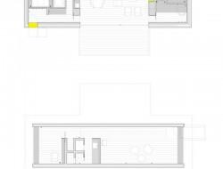 Casa B - dressed in yellow - Segovia Spain - Floorplan