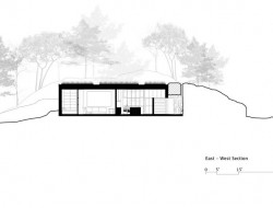 The Pierre Concrete House - Section 01