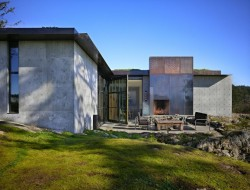 The Pierre Concrete House - San Juan Island, Washington