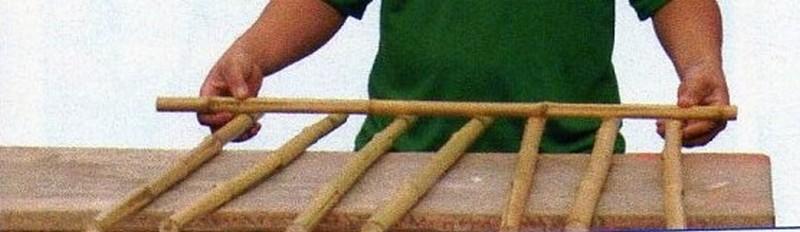 DIY Bamboo Trellis