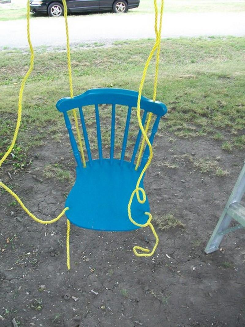 Diy Chair Tree Swing The Owner Builder Network