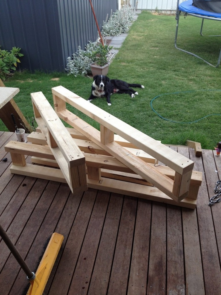DIY Day Bed - Frame