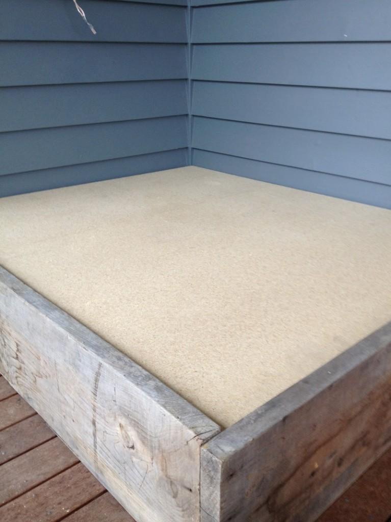 DIY Day Bed - Bed Top