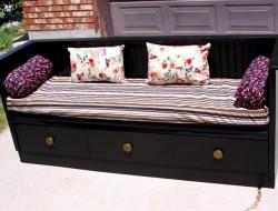 DIY Dresser Bench - After